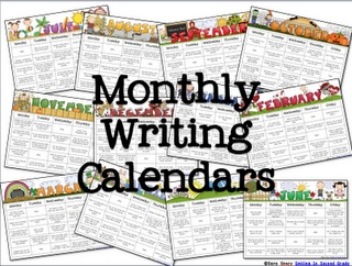 Writing prompts for every day of the year - and then some! Over 300 writing prompts for your students!