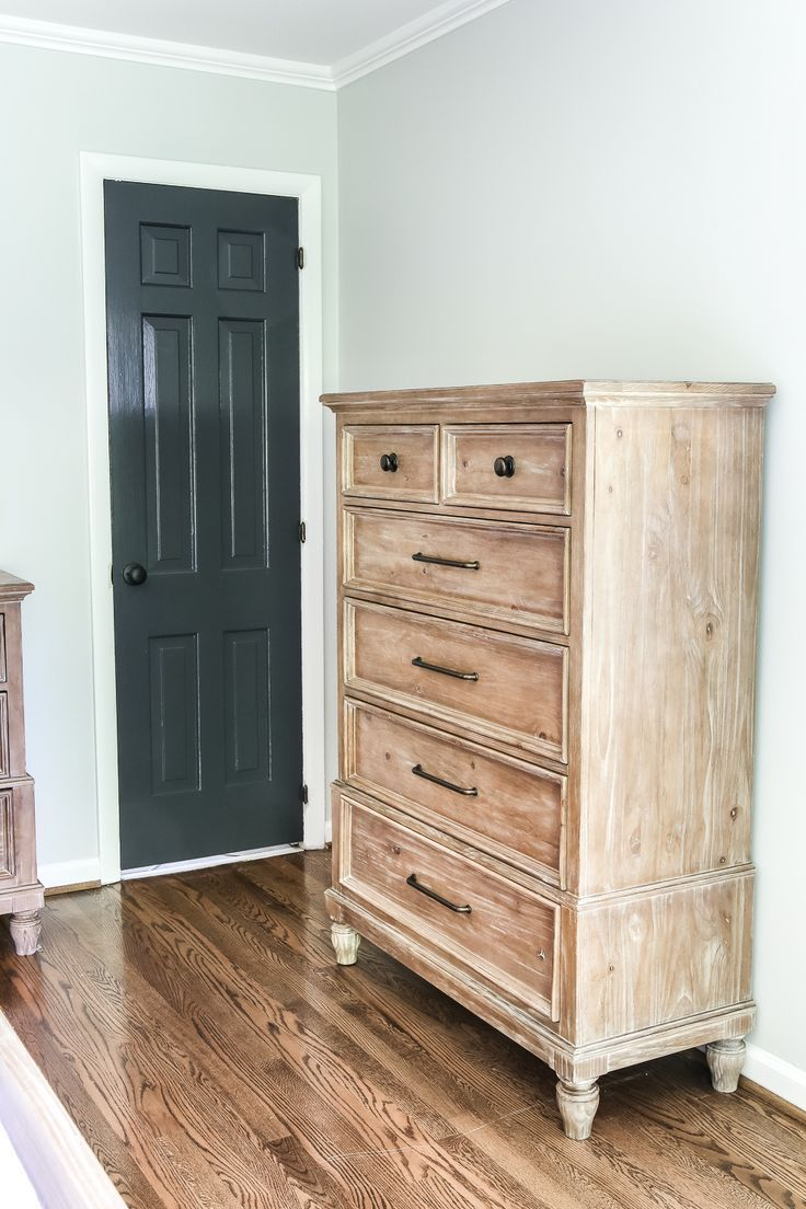 Master Bedroom Update Pickled Pine Furniture Shabby Chic