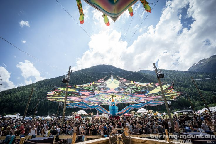 Burning Mountain Festival (Switzerland)