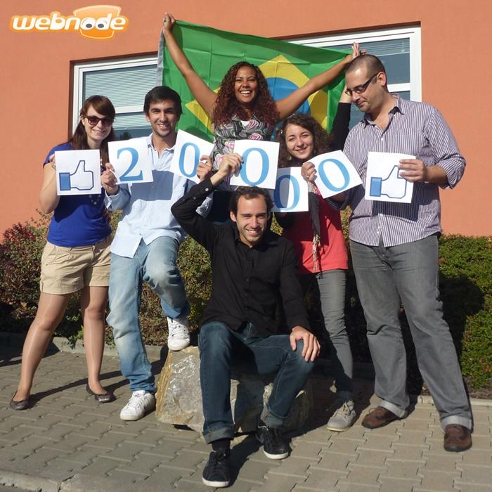 We reach 20.000 fans on Brazilian Facebook!! :)