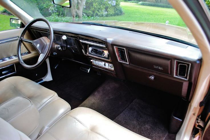 Auto Parts For Sale >> Imperial interior in gold | Imperial for 1981, 1982, 1983 by Chrysler | Chrysler imperial ...