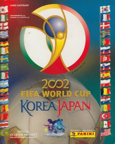 Panini South Korea/Japan 2002 World Cup Sticker Album #fifaworldcup