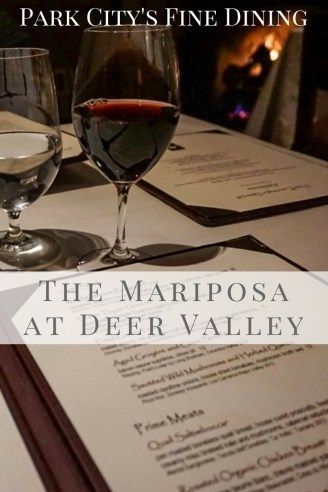 For fine dining in Park City, The Mariposa at Deer Valley Resort is a winning selection! http://www.littlethingstravel.com