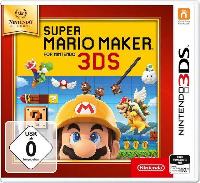 Super Mario Maker For Nintendo Selects In 2020 Nintendo 3ds Wii Nintendo