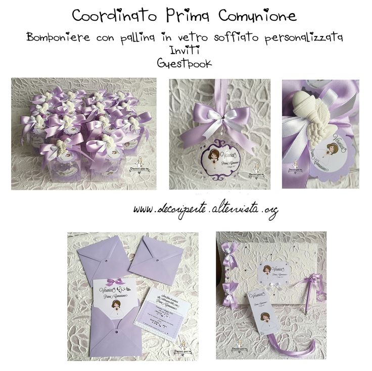 1ST COMMUNION decorations coordinato PRIMA COMUNIONE