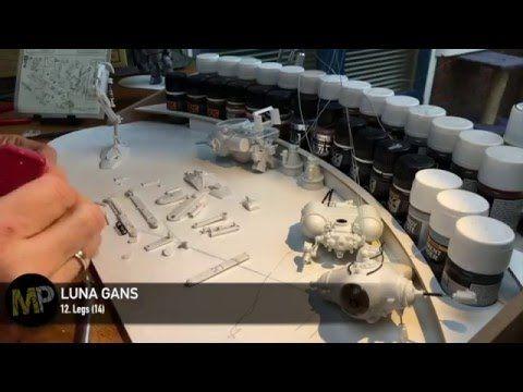 Building the Ma.k LUNA GANS part 12 [Legs] - YouTube