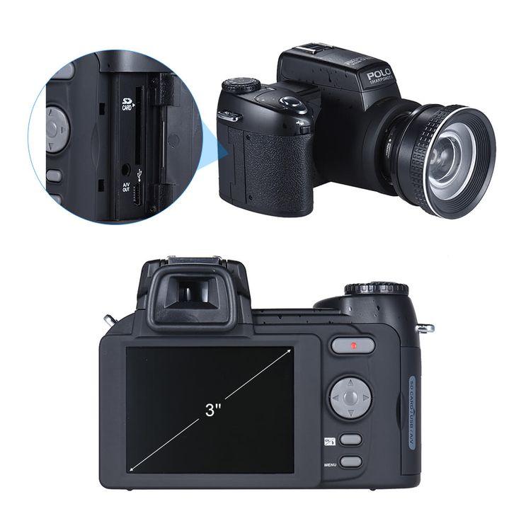 Polo Sharpshots Auto Focus AF 33MP 1080P 30fps FHD 8X Zoomable Sales Online - Tomtop.com
