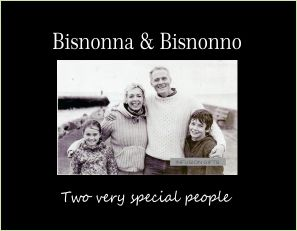 """Bisnonna & Bisnonno 4""""x6"""" Photo Frame with Verse (Two Very Special People)"""