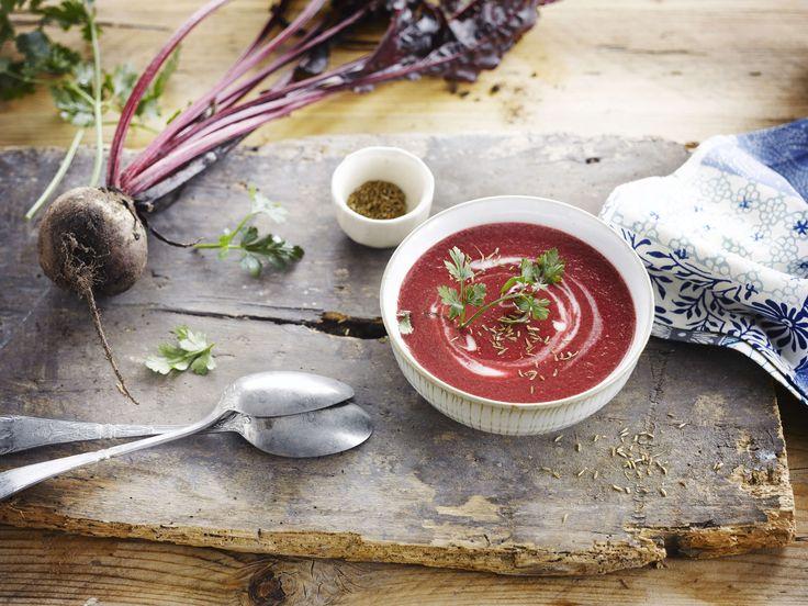 Rote Bete Suppe mit der Alpro Reis-Kochcrème Cuisine