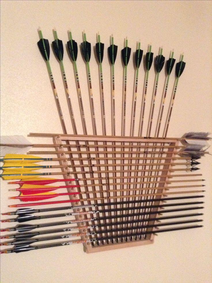 The arrow rack