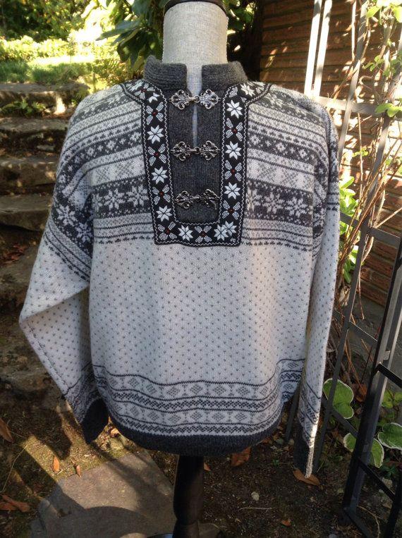 CHRISTIANIA CLASSIC wool norwegian sweater unisex by VikingRaids