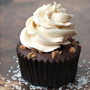 Gourmet Salted Caramel Chocolate Cupcakes. Sprinkle sea salt on the top and you are officially a super-duper gourmet cupcake maker! Tastiest Chocolate Cupcake Recipes.