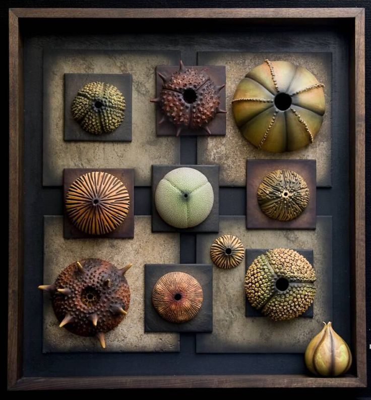 polymer clay wall art | The Daily Polymer Arts Blog » Inspired by Ceramic Textures