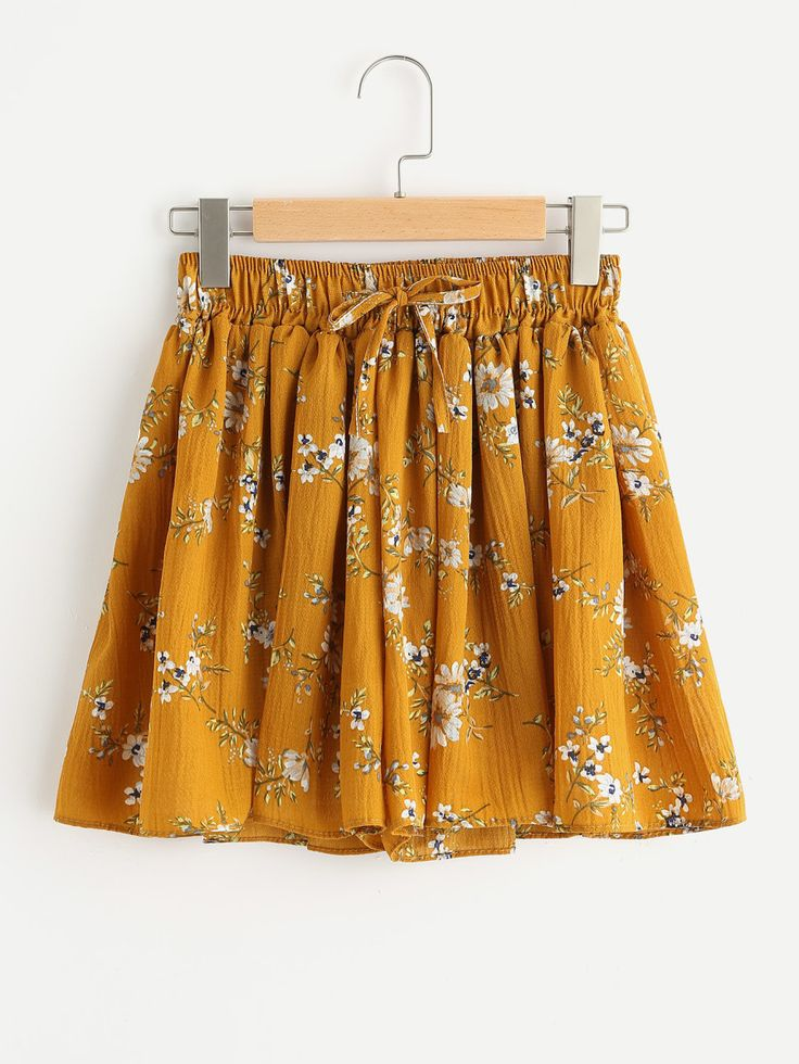 Shop Ditsy Print Elastic Drawstring Waist Shorts online. SheIn offers Ditsy Print Elastic Drawstring Waist Shorts & more to fit your fashionable needs.