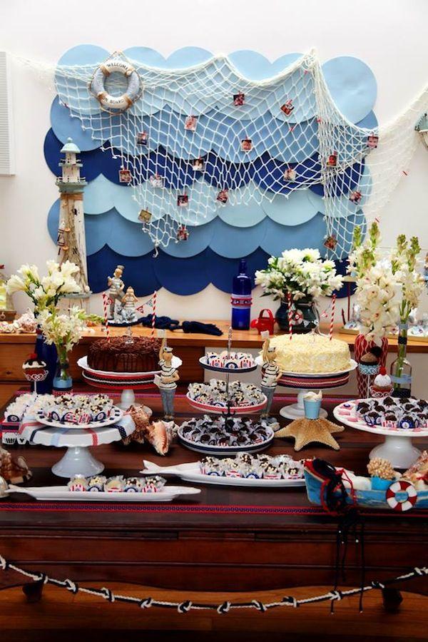 Festa Infantil | Navy | Vestida de Mãe | Blog sobre Gravidez, Maternidade e…