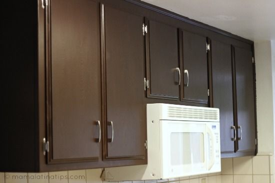 Get a new kitchen cabinets in 72 hours!! No sanding required.  Look mine. #LowesCreator