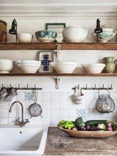 Trucos para decorar cocinas pequeñas