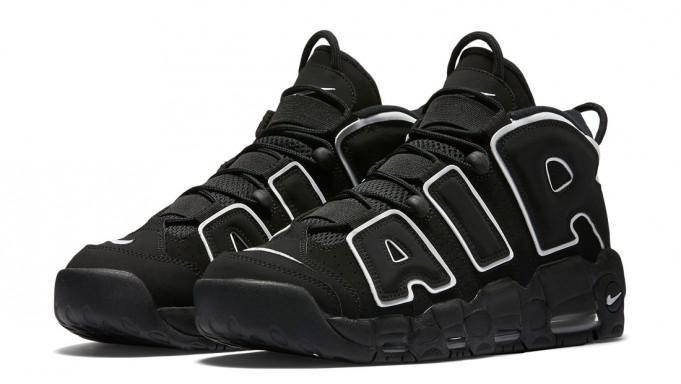 Nike air more uptempo 2016 NOIR/BLANC