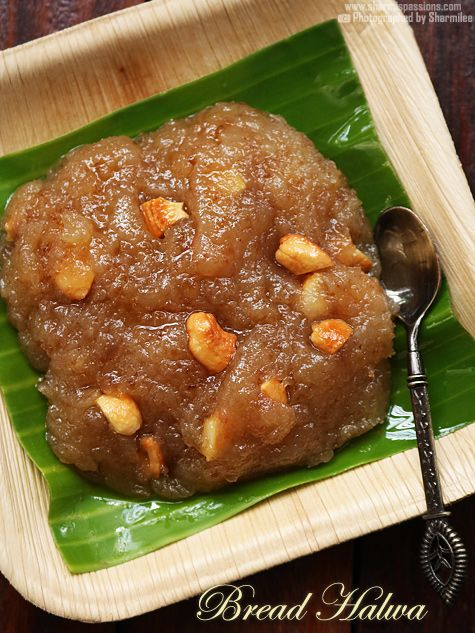 bread halwa recipe made easy with step by step photos.bread halwa recipe is made with bread ghee and sugar as main ingredients.