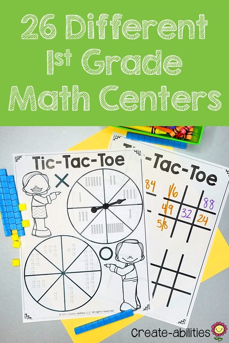 Your 1st grade students are going to be MASTERS of their math skills when you use this 300+ page resource! Included are 26 games and math center activities. You'll find differentiated versions. The print and go centers are made to cover the needs of your first grade classroom OR homeschool. With purchase you receive 26 math centers and games, center signs, picture cues, game boards, multiple variations of each center, center names, math journal pages, game cards, and MORE! Click through! $