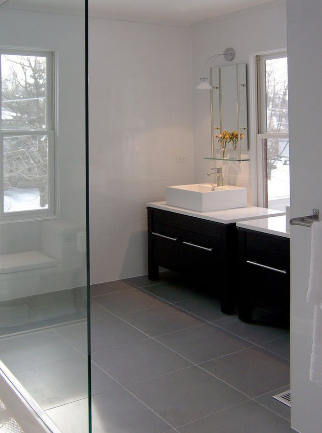 grey floor tile design pictures remodel decor and ideas page 2