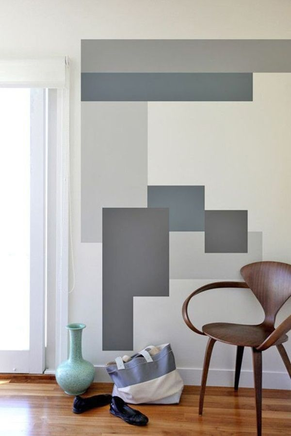 delightful Diy Wall Paint Design Ideas Part - 17: 40 Easy DIY Wall Painting Ideas For Complete Luxurious Feel