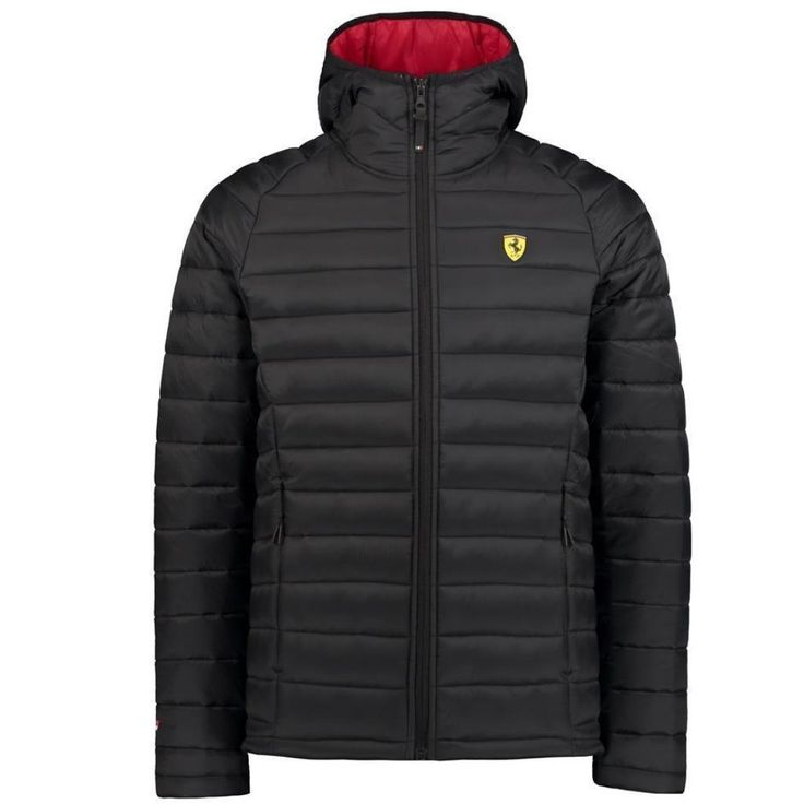 Scuderia Ferrari Formula 1 Men's 2018 Black Padded Jacket