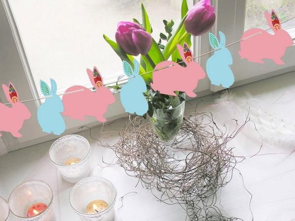 simple easter decorating ideas and table centerpieces