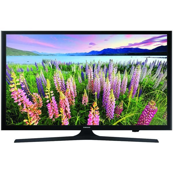 Enjoy favorite TV show or movie with 40 inch Samsung Smart TV. Model number UN40J5200DFXZA HD 1080p LED WiFi Smart TV Streams content from Smart Hub Advanced TV sound Two 10W front speakers & DTS(R) premium sound 2 HDMI & 1 USB input Connect Share movies 60Hz refresh rate Built in V-chip. Shop online furniture store.