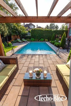 Poolside - Royale slab by Techo-Bloc - contemporary - swimming pools and spas - Techo-Bloc