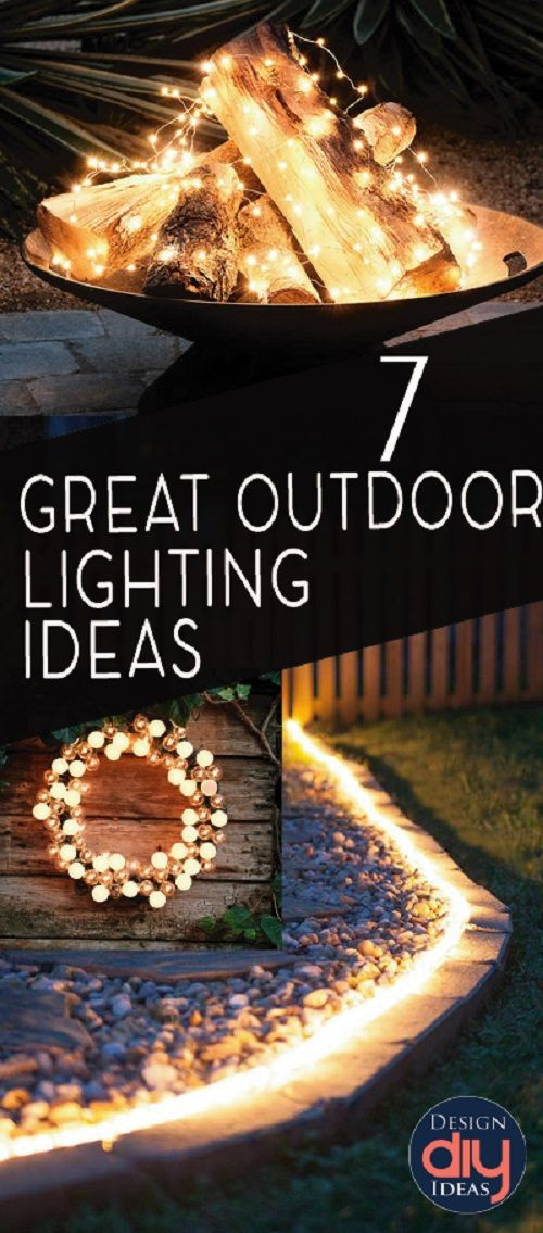 Add a little curb appeal to your home and garden and make your outdoor space more entertaining and energetic with these incredible OUTDOOR LIGHTING IDEAS!