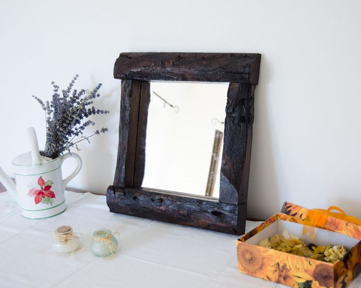 ideas about Rustic Mirrors on Pinterest Mirror