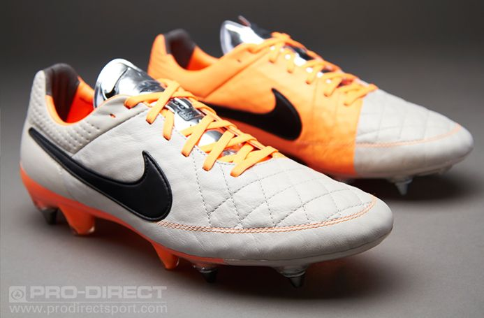 outlet store eece7 30060 nike tiempo white and orange