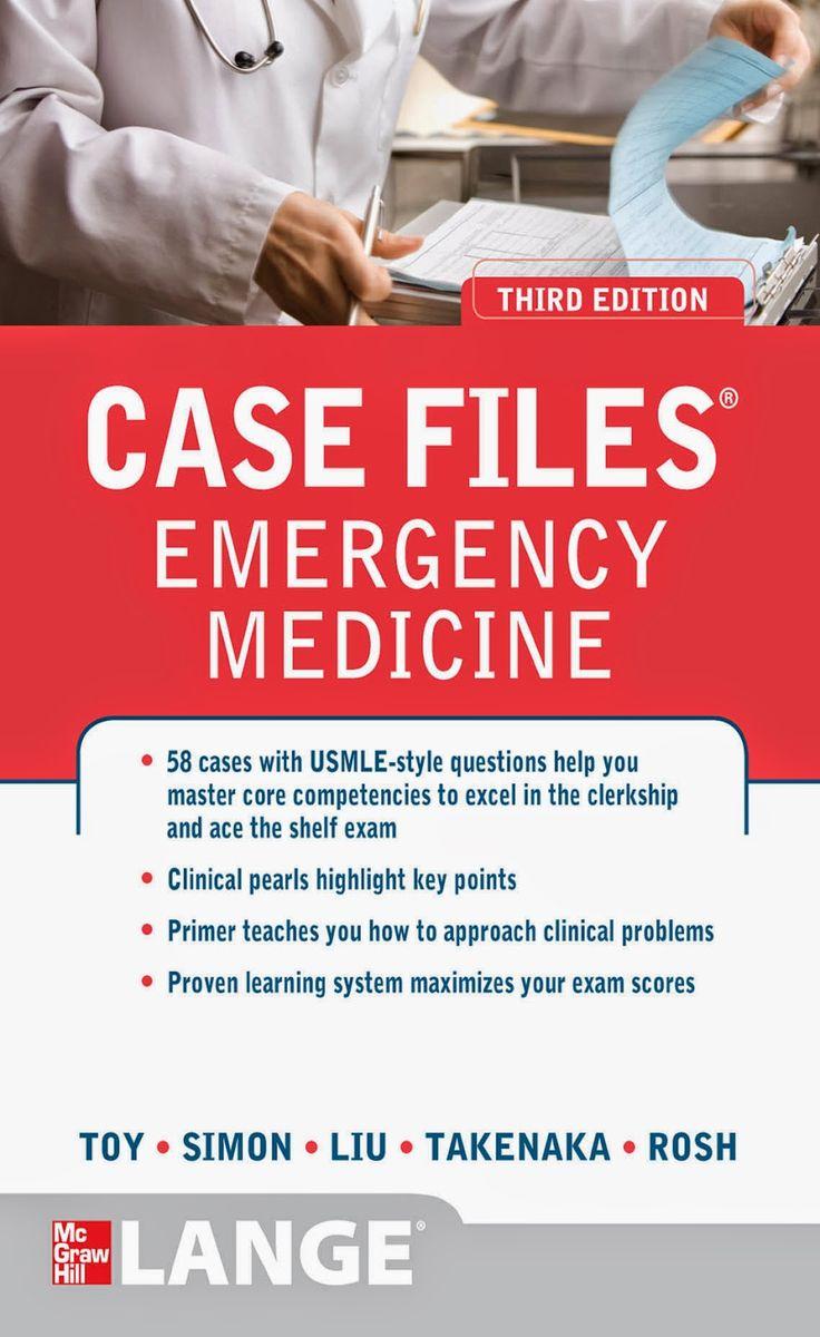 Case Files Emergency Medicine 8rd Edition PDF » Free PDF EPUB ...