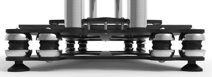 www.townshendaudio.com Seismic vibration isolation equipment stand Hi-Fi + Home Cinema rack   Vibration Isolation