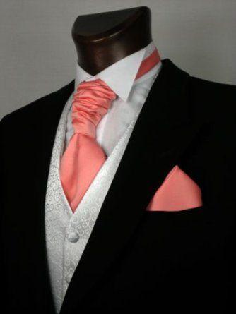 Coral cravat