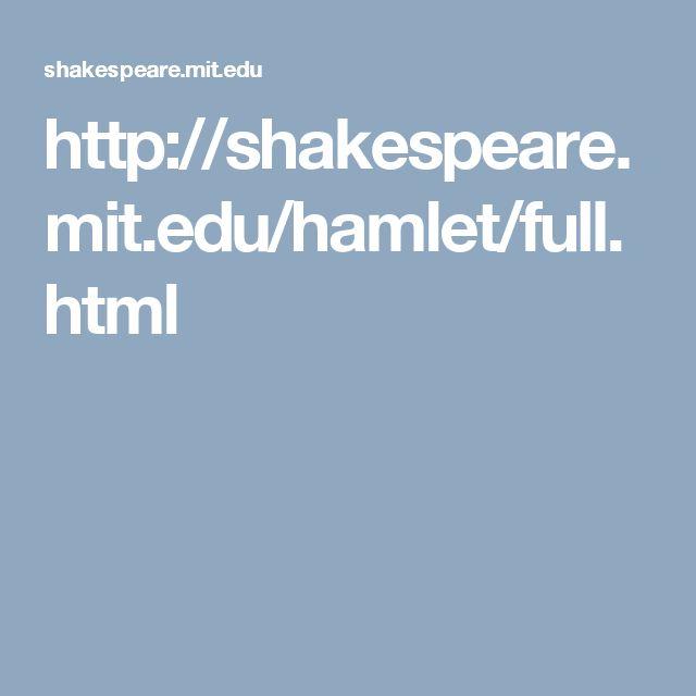 hamlet theme madness essay