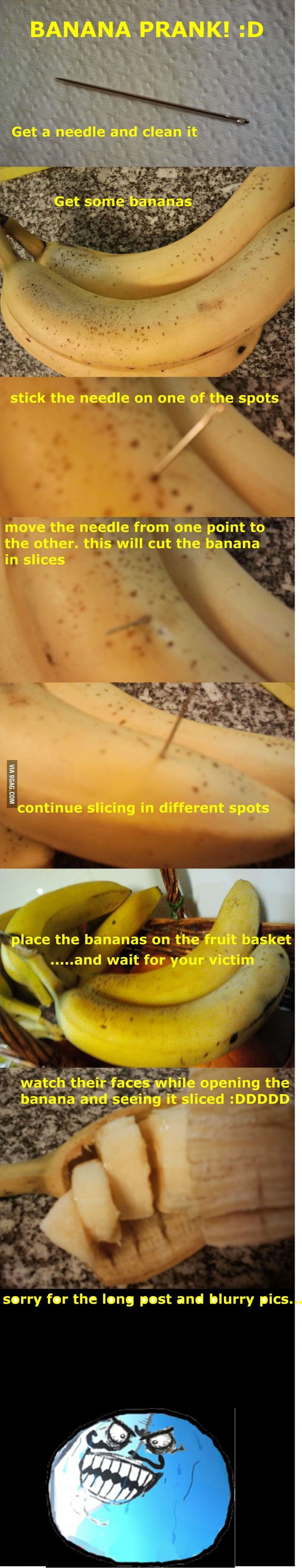 Banana Prank