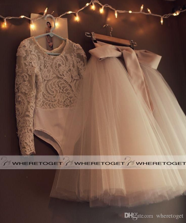 2016 Cute First Communion Dresses For Girls Scoop Backless With Appliques And Bowtulle Ball Gown Pageant Wedding Flower Girl Dress