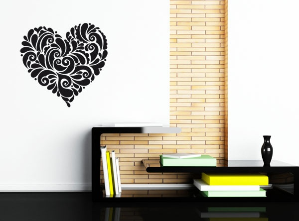 17 best images about stickers love on pinterest baroque for Chambre baroque romantique