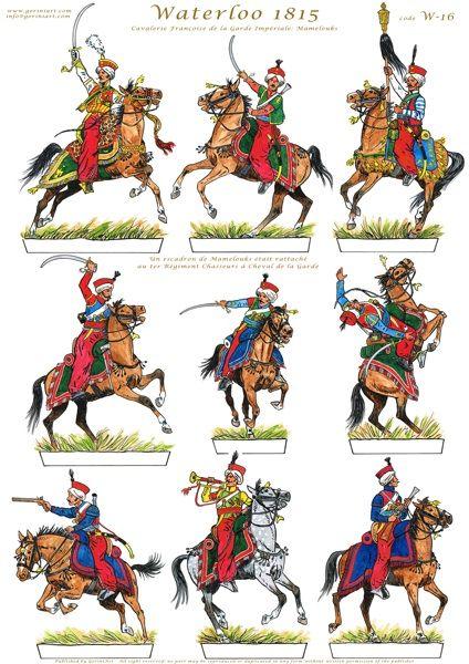 Mammalucchi della guardia imperiale francese