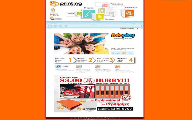 2b Printing Solutions Pte Ltd - Best Printing Services in Singapore… - Canva