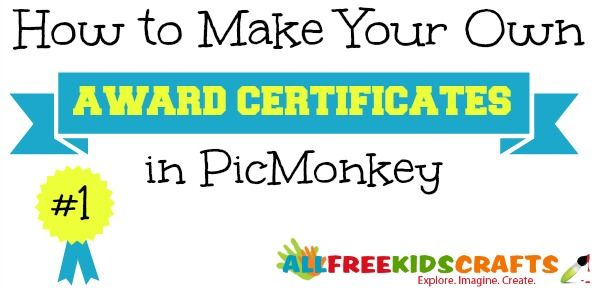 How To Make Your Own Award Certificates Attendance