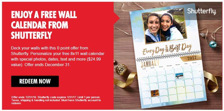 Deals on shutterfly calendars