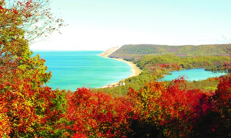 """Traverse City, Michigan: About an hour north of Manistee. """"Pure Michigan,"""" at its best. :)"""