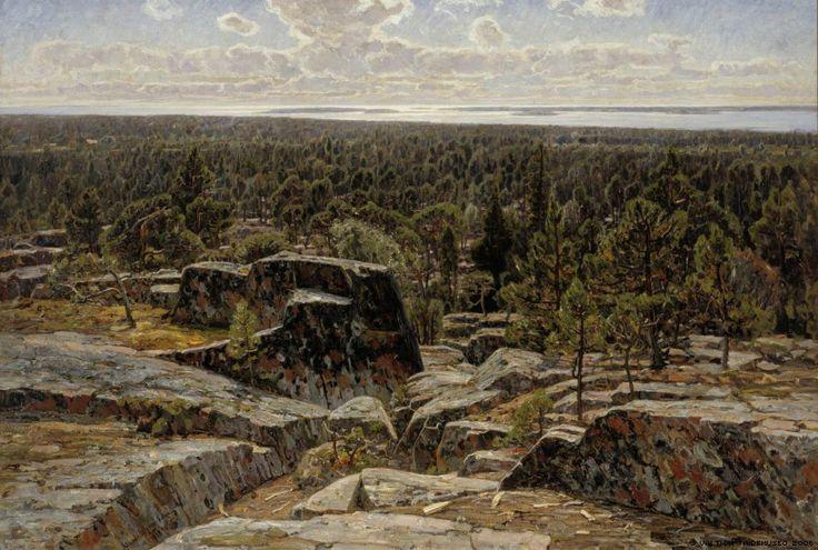 Victor Westerholm - Maisema Ahvenanmaalta
