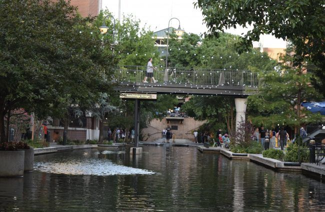 10 Family Fun Things to Do in Oklahoma City - Bricktown entertainment district is filled with restaurants, attractions, and sites.