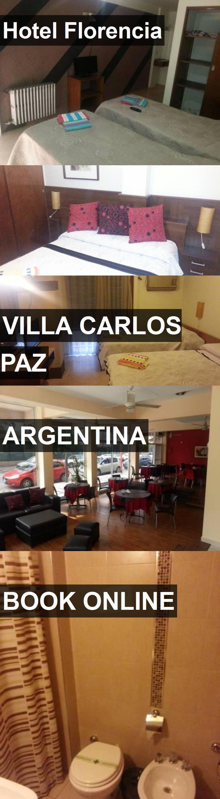 Hotel Florencia in Villa Carlos Paz, Argentina. For more information, photos, reviews and best prices please follow the link. #Argentina #VillaCarlosPaz #travel #vacation #hotel
