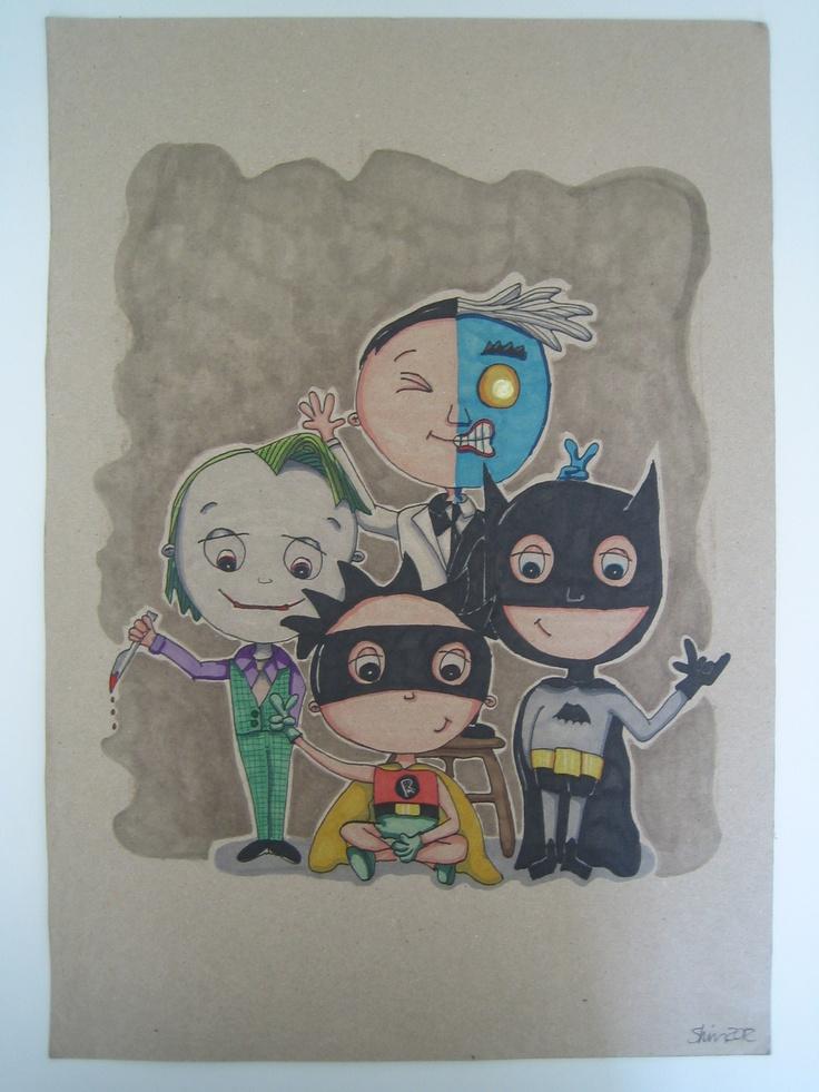 Drawing | Batman & Co.: Drawing
