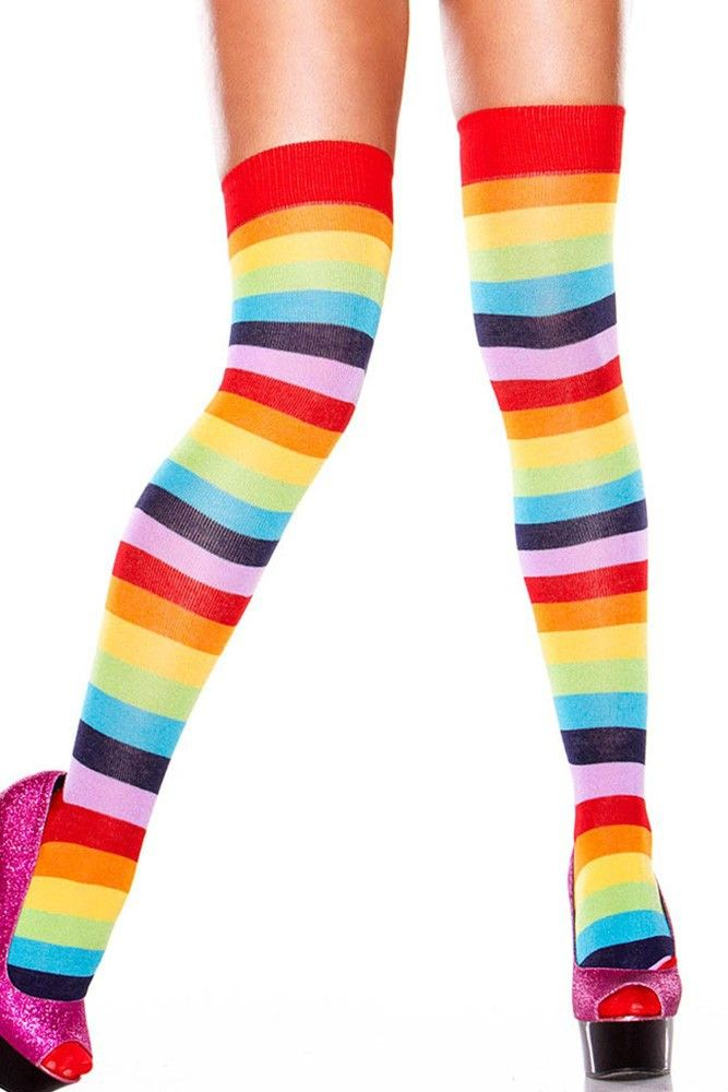 Rainbow Leggins just in time for Pride